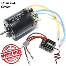 Powerhobby 540 21T Brush Brushed Motor w/ Axial AE-5 ESC For 1/10 Truck Buggy