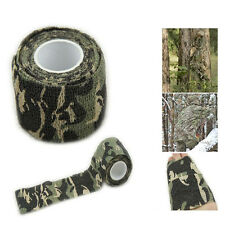 1 Roll 5CMx4.5M Outdoor Camo Wrap Hunting Camping Hiking Camouflage Stealth Tape