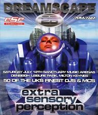 DREAMSCAPE 25 - EXTRA SENSORY PERCEPTION (DRUM N BASS CD'S) 12/7/97 (ONE NATION)