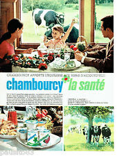PUBLICITE ADVERTISING 086  1967  Chambourcy  les yaourts  concours radio Rmc