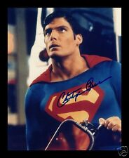CHRISTOPHER REEVE - SUPERMAN AUTOGRAPHED SIGNED AND FRAMED PP PHOTO POSTER