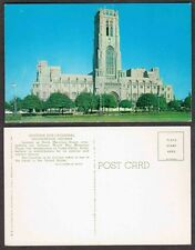 Old Indiana Church Postcard - Indianapolis - Scottish Rite Cathedral