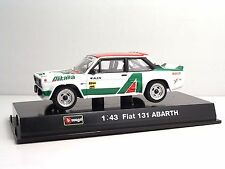Bburago 38113 FIAT 131 ABARTH - METAL Scala 1:43