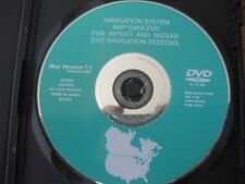 NISSAN INFINITI NAVIGATION MAP DVD MAP VERSION 7.1 RELEASED 2005 NAVIGATION OEM