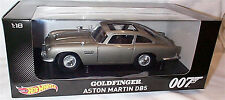 James Bond 007 Aston martin DB5 Goldfinger 1-18 scale new Hotwheels CMC95