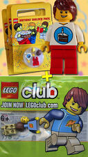 LEGO MAX Minifigures - LEGO Club + Birthday Builder Pack - Rare - NEUF / Sealed