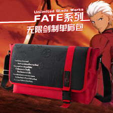 Fate/stay night UBW Emiya Archer Fate/Zero Anime Shoulder Bag Messenger Bag Gift