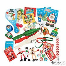 50pc CHRISTMAS STOCKING STUFFER ASSORTMENT TOYS,GIFTS,FAVORS NEW