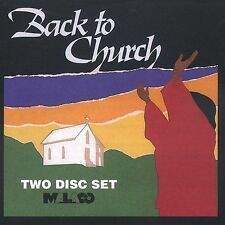 Back to Church - Various - New Factory Sealed CD