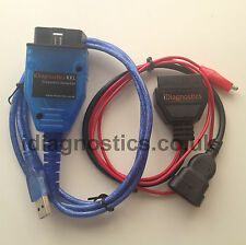 MULTIECUSCAN 3-Pin plug + KKL OBD2 Engine Airbag Alfa Fiat Punto 145 146 155