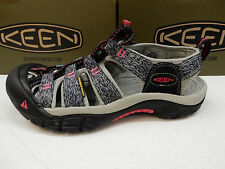 KEEN WOMENS SANDALS NEWPORT H2 BLACK BRIGHT ROSE SIZE 10