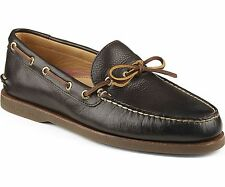 SPERRY TOPSIDER MENS GOLD CUP A/O 1-EYE LOAFERS BOAT SHOES STS12417 BROWN 10