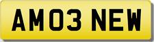 AM Amo Brand Spanking utilizzato veicolo privato Cherished registrazione number.plate