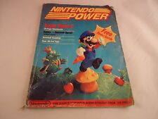 Nintendo Power Volume 1 July August 1988 Mario 2 Cover Attached Poster/Zelda Map