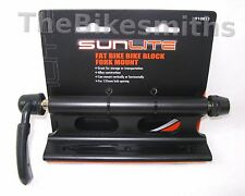 Sunlite FAT Bike Block Alloy Fork Mount Pickup Truck Rack Carrier Holder 135mm