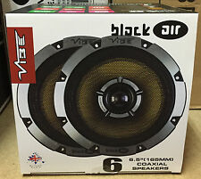 VIBE BLACKAIR 6 - 2WAY 6.5 INCH 16.5cm CAR DOOR/SHELF COAXIAL SPEAKERS PAIR 270W