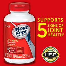 Schiff Move Free Advanced Triple Strength Glucosamine Chondroitin Joint 170 ct