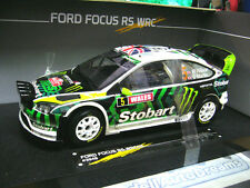 FORD Focus WRC Rallye GB 2010 RS #5 Wilson Stobart Nightversion Sunstar SP 1:18