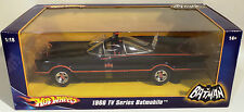 BATMAN 1966 VERSION : 1/18 SCALE BATMOBILE DIE CAST MODEL BY MATTEL IN 2007