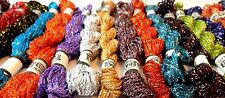 Original Metallic Hand Embroidery Thread Skeins x 18 Best Quality & Colours