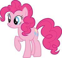 PINKIE PIE My Little Pony Decal Removable WALL STICKER Home Decor Art Bedroom