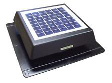 Rand 10 W Solar Battery Powered Attic Fan- Roof Top-Runs at Night!!- 10 Watt