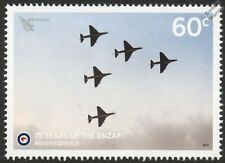 "2012 A-4 SKYHAWKS ""Missing Man"" Formation 75th Anniv. RNZAF Aircraft Stamp"