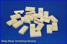 Lego 20 x Platte (1 x 2) - 3023 beige - Plates tan - NEU / NEW