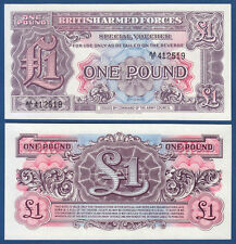 BRITISH ARMED FORCES 1 Pound  (1948) UNC  P. M22