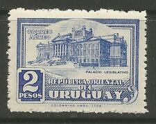 URUGUAY. 1945. Legislative Palace 2 Peso Air. SG: 900. Mint Never Hinged.