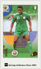 2010 Panini World Cup Soccer Trading Card Common No152 John Obi Mikel (Nigeria)