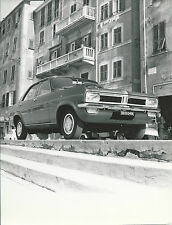 Vauxhall Viva SL 1960's Original Italian Press Photograph Roma Licence Plates