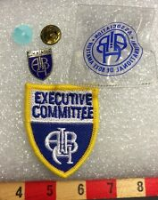 Boxer Boxing Patch & Pin Set Com. Member / Executive Committee Member AIBA 66V1
