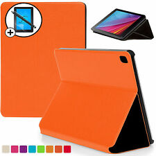 Orange Clam Shell Smart Case Cover Huawei MediaPad T1 7.0 Plus Scrn Prot Stylus
