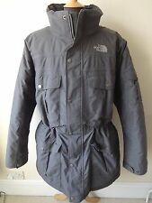 The North Face Coat, Padded Parka Grey Size XXL RRP £350 *Hyvent*