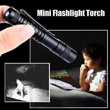 CREE XPE-R3 LED 1000 Lumens Lampe Clip Mini Penlight Taschenlampen Torch AAA Neu