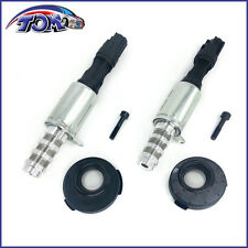 BRAND NEW SET OF 2 ENGINE VARIABLE TIMING SOLENOID VCT SOLENOID W/ SEAL & SCREW
