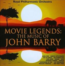 Movie Legends: Music of John Barry, New Music