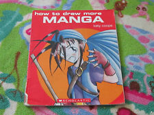 How to Draw More Manga by Katy Coope book art drawing poses and action