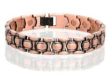 COPPER MAGNETIC LINK BRACELET healing health energy arthritis pain stone  #LO