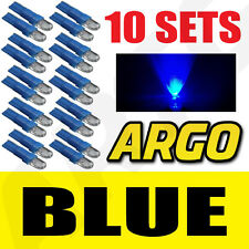 10 X SETS T5 286 LED ULTRA BLUE DASHBOARD LIGHT BULBS XENON 12V LAMP DIALS CAR