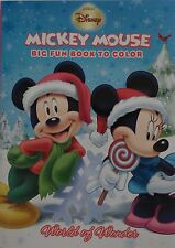 New Mickey Mouse Coloring Book ~ World of Wonder ~ FREE SHIPPING