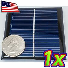 0.6W Solar Panel - 6V / 90mA - 65 x 65 mm - Epoxy Coated - Polycrystalline