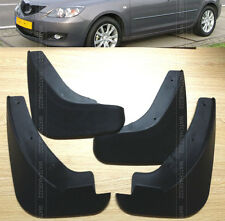FOR 04~2008 MAZDA 3 HATCH HATCHBACK MOLDED MUD FLAP SPLASH GUARD 2005 2006 2007