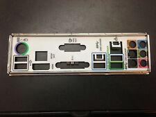 *•✿•*SAME DAY SHIPPING 3PM*•✿•*NEW*•✿•*ASUS IO SHIELD BACKPLATE FOR P8Z68V LE