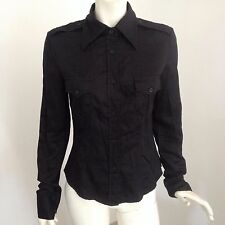 Guess, chemisier noir, taille 38, tbe