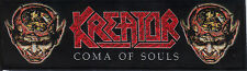 KREATOR-COMA OF SOULS-STRIPE WOVEN PATCH-THRASH METAL-RARE