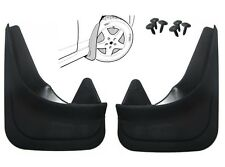 Set of Moulded Universal Fit Mud Flap Mudflaps Front or Rear to suit SAAB Models