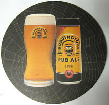 BODDINGTONS PUB ALE Beer COASTER, Mat, Manchester, UNITED KINGDOM 2004 issue