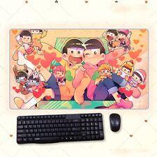 Anime Mr. Osomatsu-san Kun DIY Thicken Gaming Playmat Extra Large Mousepad Mat